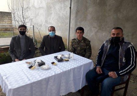 Masallı Gənclər idarəsinin əməkdaşları qazi Nofəl Nuhuzadə ilə görüşüb