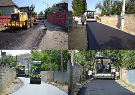 Masallı şəhərində 22 küçənin asfaltlanması yekunlaşıb