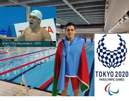 Masallılı üzgüçü Paralimpiya çempionu və rekordçusudur