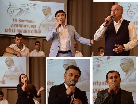 Masallıda Milli Musiqi Gününə həsr olunan onlayn konsert