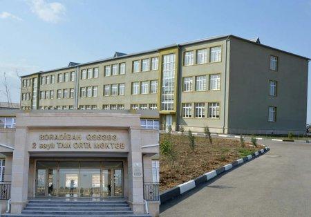Masallının Boradigah qəsəbəsində yeni məktəb binasına baxış keçirilib