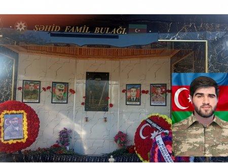 """Masallıda """"Şəhid Famil bulağı""""nın açılışı"""